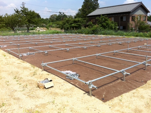 日本太阳能光场安装(施工)方法/太阳能发电施工程序2