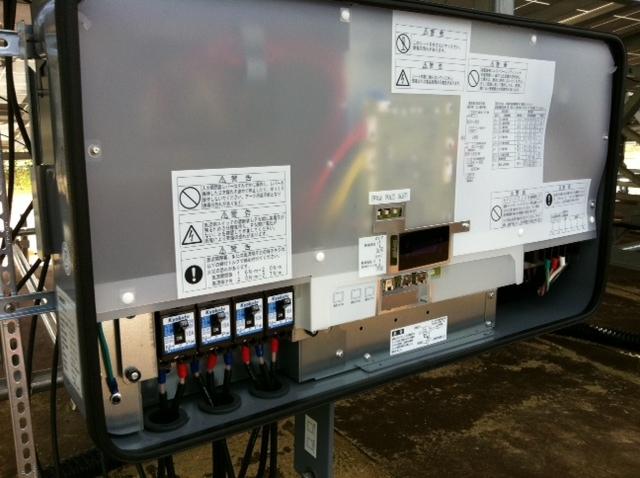 日本工业太阳能场架安装(施工)方法/太阳能发电施工程序第4部分