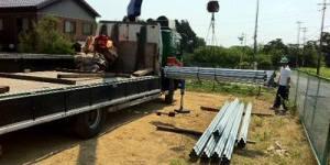 日本工业太阳能场架安装(施工)方法/太阳能发电施工程序(第1部分)