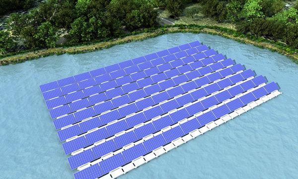 水上漂浮式光伏电站的发展现状