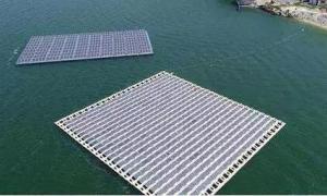 水面漂浮光伏电站用浮筒支架安全性分析