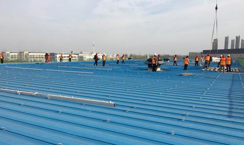 泰德中标安徽10mw屋顶光伏支架工程