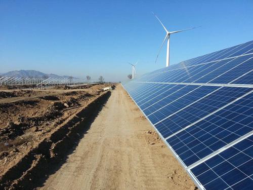 泰德能源为河北怀来30MW光伏项目提供光伏支架