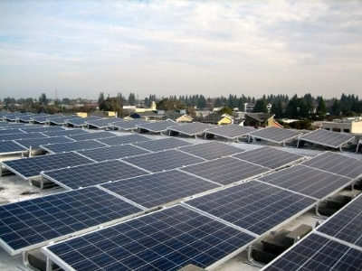 Unirac supply 397.5 kW Roof Mount (RM) in Palo Alto
