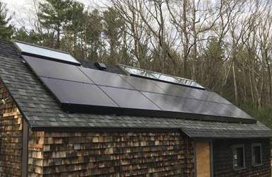 太阳能屋面无轨式安装支架