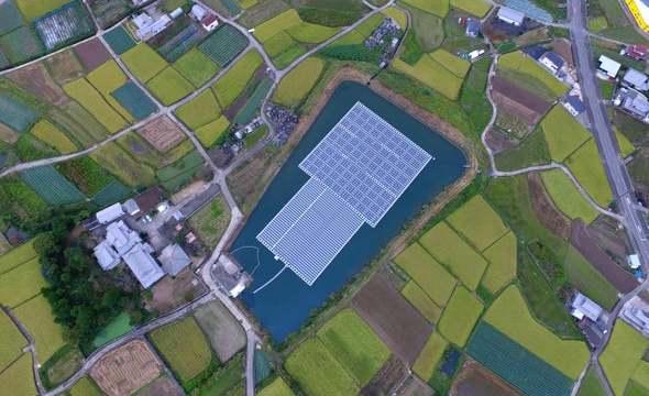 将太阳能电池板放在水上是一个好主意 - 但它会漂浮吗?