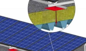 柔性屋面(TPO)太阳能光伏支架设计和安装方案