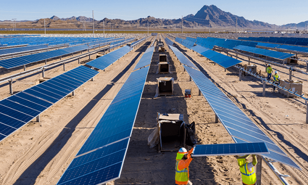 苹果公司推出单轴跟踪器和双面太阳能电池组件