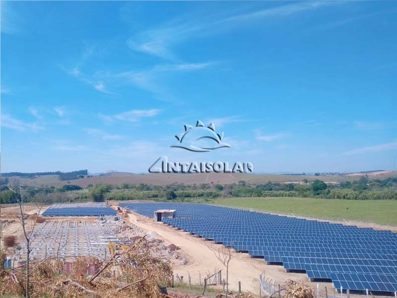 助力南美光伏电站建设,福建安泰为巴西地面电站项目提供全套铝支架解决方案