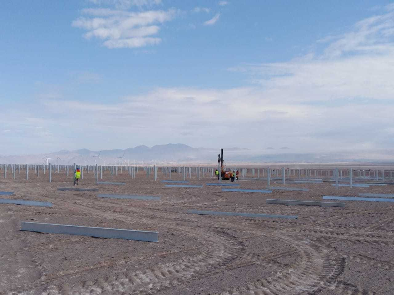 SOLTEC将为智利101MW光伏项目提供SF7双面跟踪器