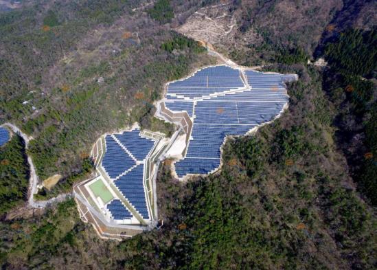 日本11.7MW滋賀光伏电站并网 格瑞士为项目提供定制化支架解决方案