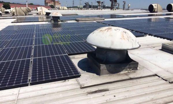 聚高新能源为越南分布式屋顶电站提供光伏支架