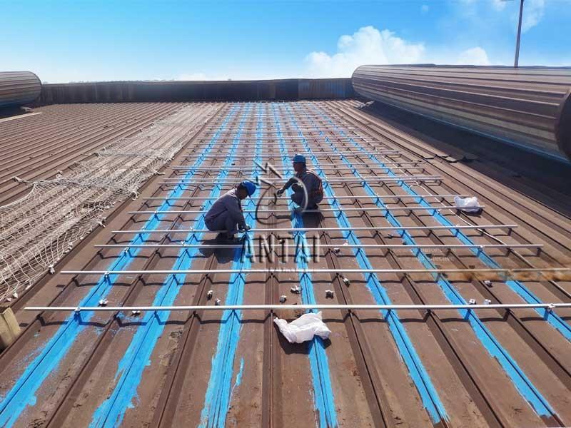 35.2MW!安泰新能源为南京钢铁工商业屋顶项目提供全套支架解决方案