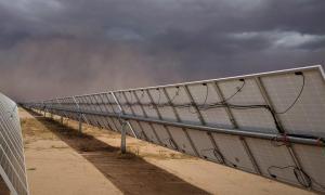 如何减少冰雹损害对太阳能光伏电站的威胁