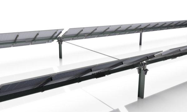 AXIALTRACKER 1V TWIN,新型两排太阳能跟踪器,可将供应成本降低多达 20%