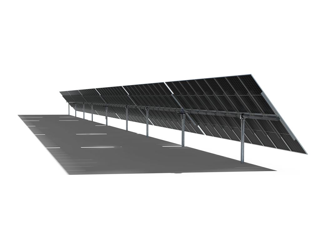 PVH 推出针对高功率组件重新设计的新型太阳能跟踪器Monoline+