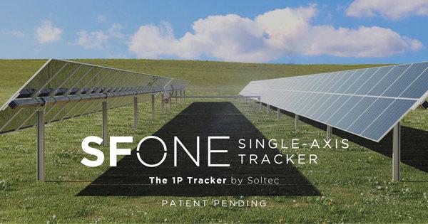 Soltec 推出新的 SFOne 跟踪器
