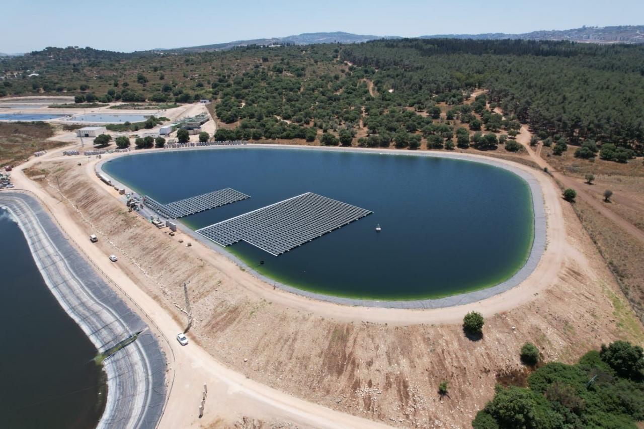 以色列建成第一个水面漂浮电站项目