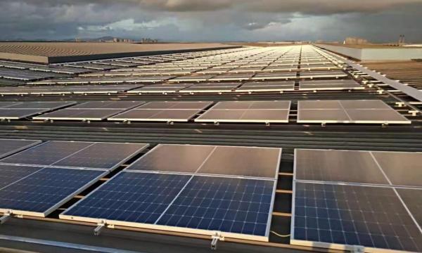 聚高为黄埔文冲船舶分布式屋顶电站提供6MW光伏支架