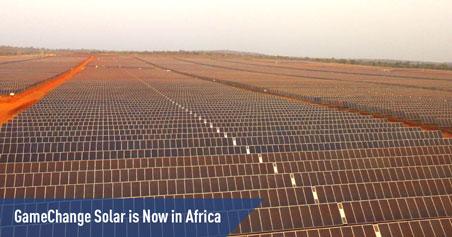GameChange Solar 首次在非洲多哥完成50MW光伏跟踪项目