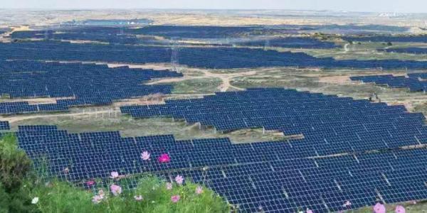 双碳目标下 清源科技助力采煤沉陷区变身智能光伏田园综合体