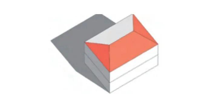 建筑可安装光伏面积快速计算方法
