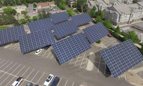 Mechatron利用双轴跟踪器制作太阳能车棚