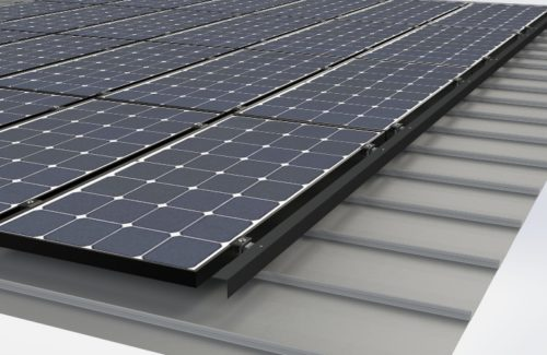 S-5!为彩钢瓦屋顶光伏支架开发太阳能组价裙边