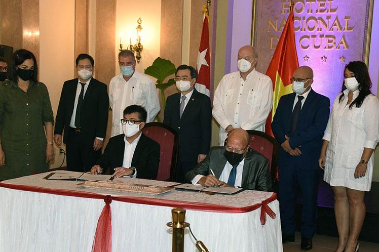 两国领导共同见证 | 华鼎跟踪助力古巴大型光伏项目