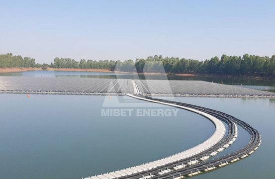 迈贝特--泰国1.5MW水上漂浮光伏电站项目顺利并网