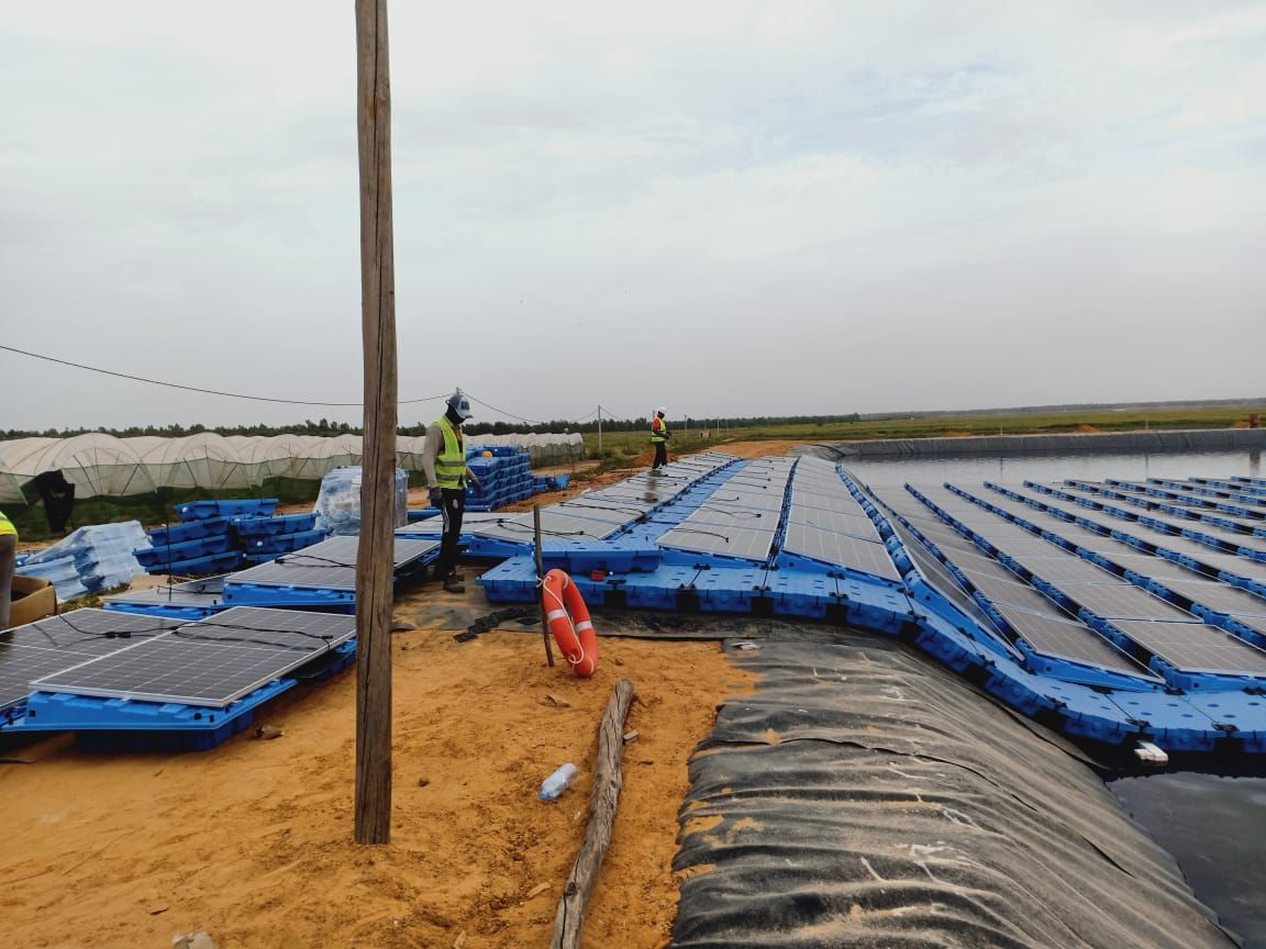 ISIGENERE在摩洛哥安装Isifloating 漂浮系统