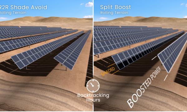 Nextracker的TrueCapture 新型分离升压模式优化了半片组件性能